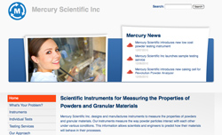 Mercury Scientific website